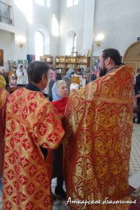 Празднования Собора Саратовских святых.