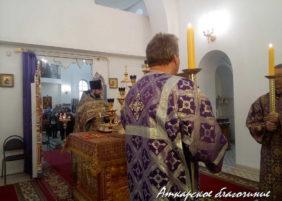 Божественная литургия и Чин торжества православие_ФОТО
